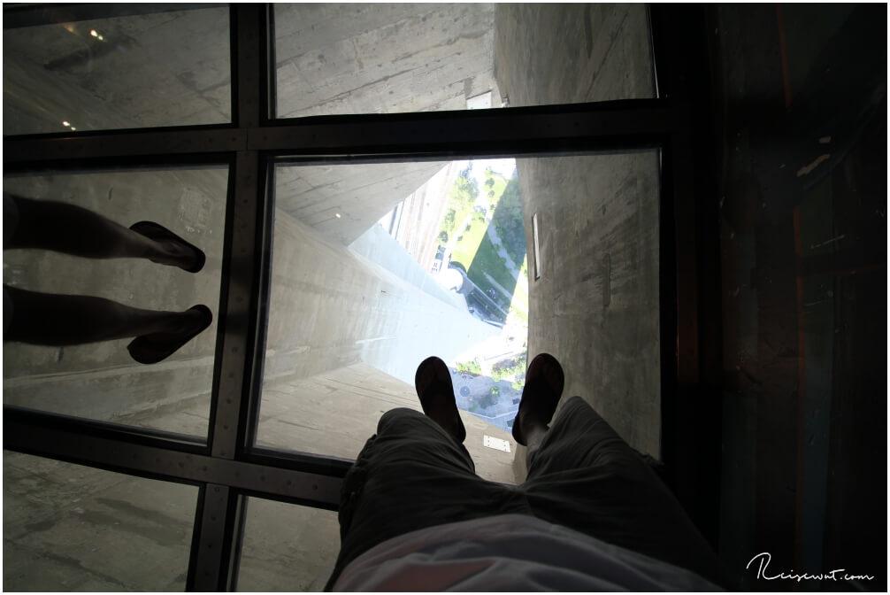 Blick nach unten