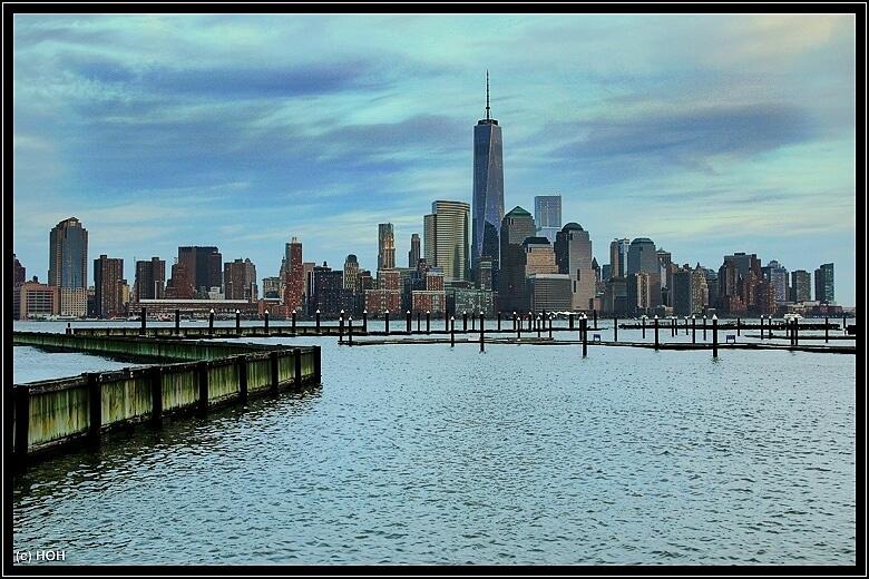 Nein, nicht Düsseldorf *lach* Manhattan Skyline vom Jersey Boardwalk