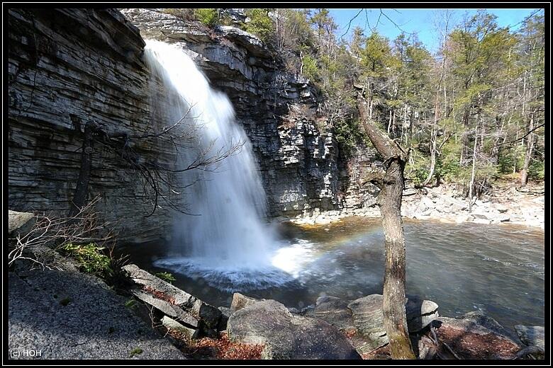 Awosting Falls, klein aber fein