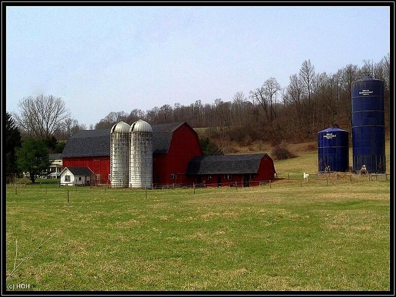 Farm am Wegesrand