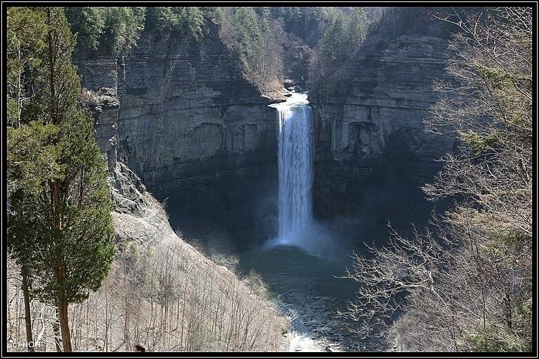 Taughannock Falls via Robert H Treman SP