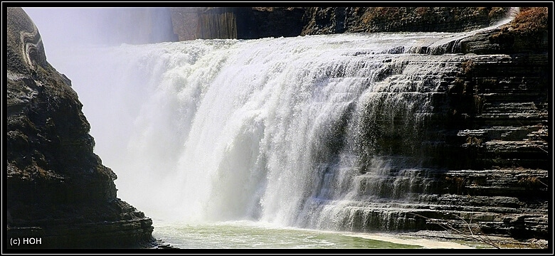 Upper Falls Nahaufnahme