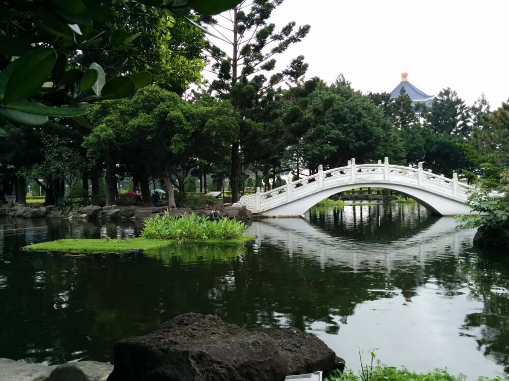 Chiang Kai Shek Memorial Park - Meine erste Reise nach Asien