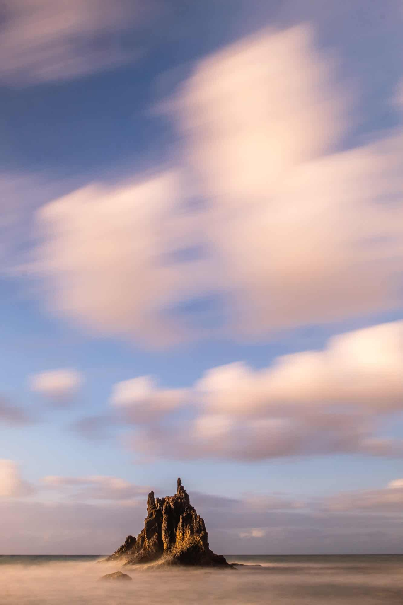 Die Küste von Teneriffa hat uns mit ihren rauen Meeresfelsen begeistert