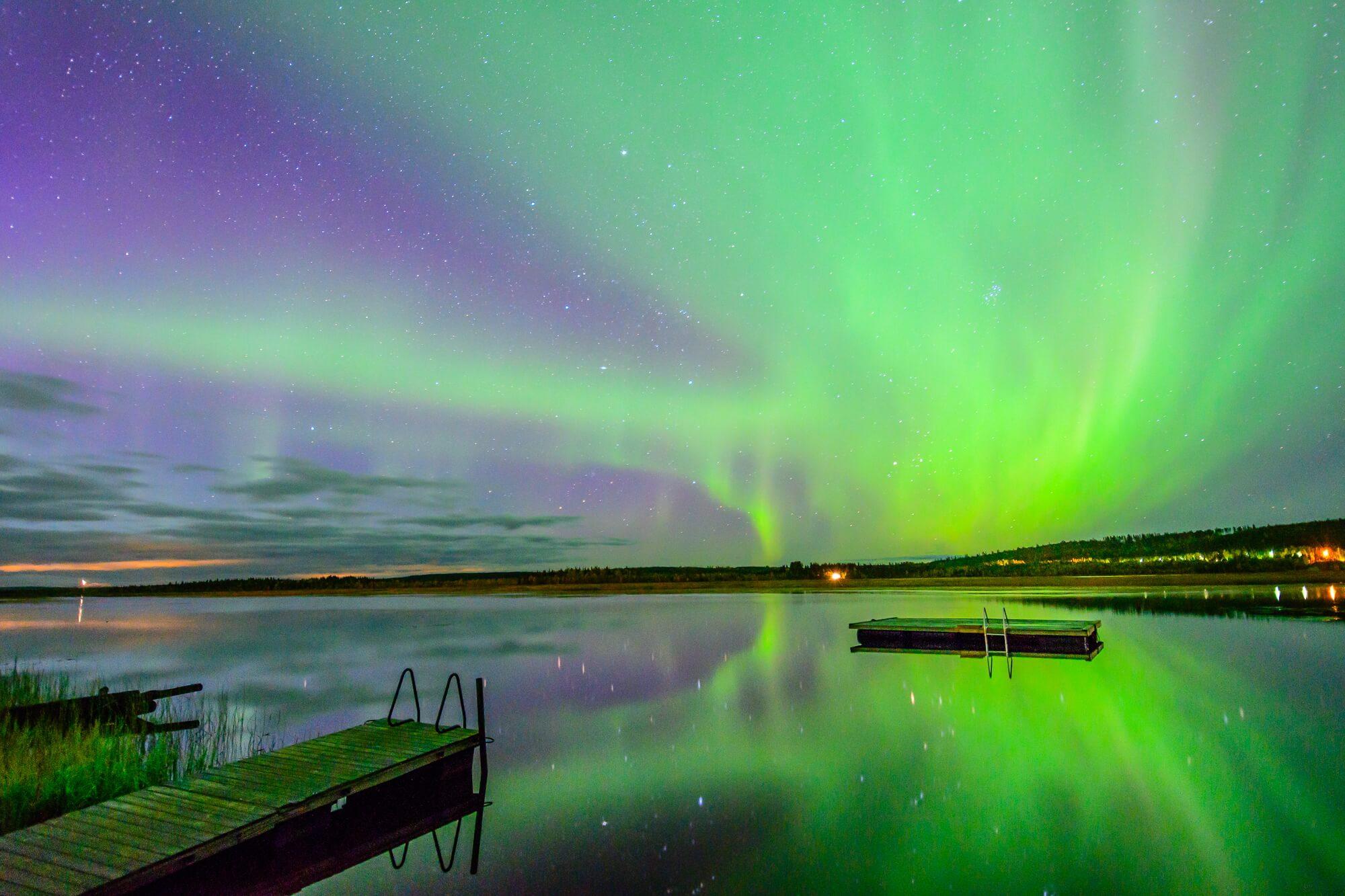 Finnland - Das erste Mal Nordlichter, eines der schönsten Naturschauspiele, die wir erlebt haben