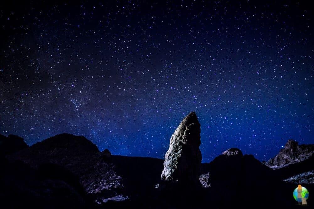 Ich bin wegen des angeblich so schönen Sternenhimmels nach Teneriffa geflogen. Als ich dann mitten in der Nacht im Teide Nationalpark stand und in den Himmel sah, wurden meine Erwartungen sogar noch übertroffen.