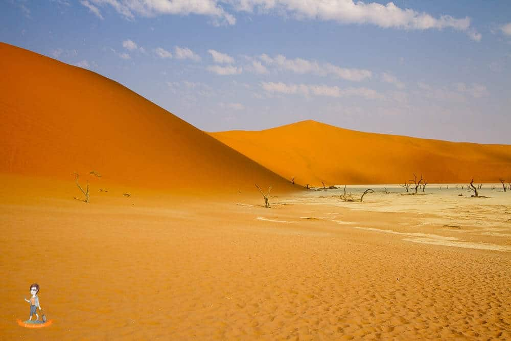 Die Dünen von Sossusvlei