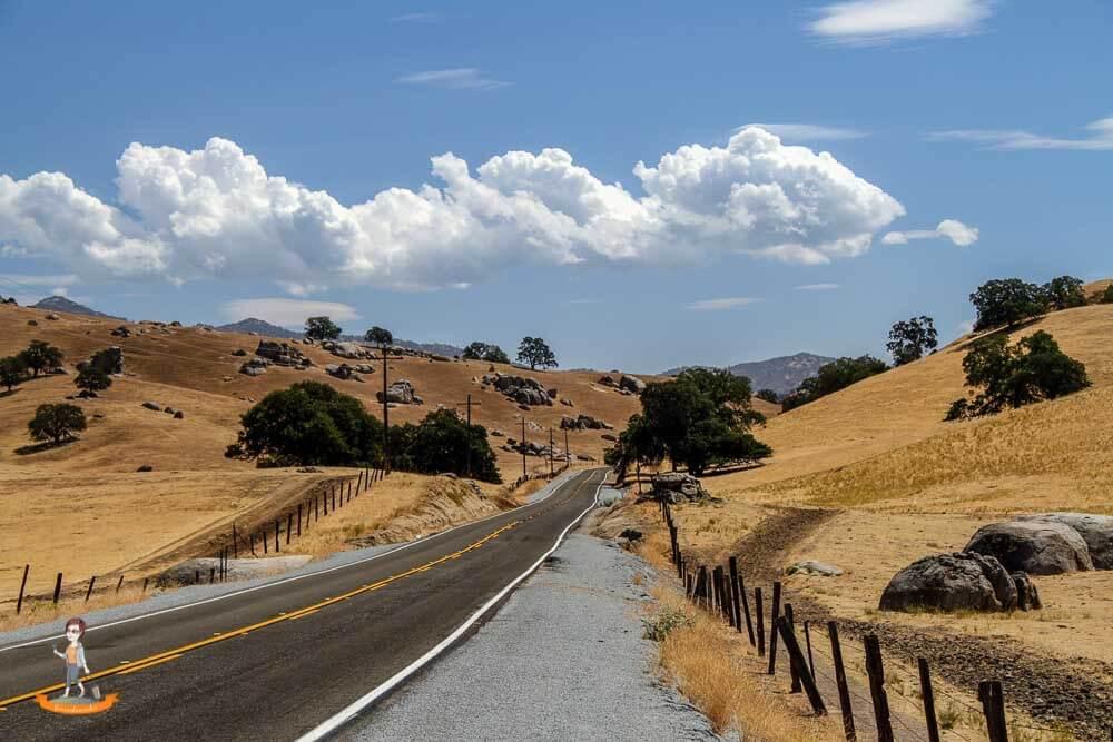Unterwegs auf einem Roadtrip im Westen der USA