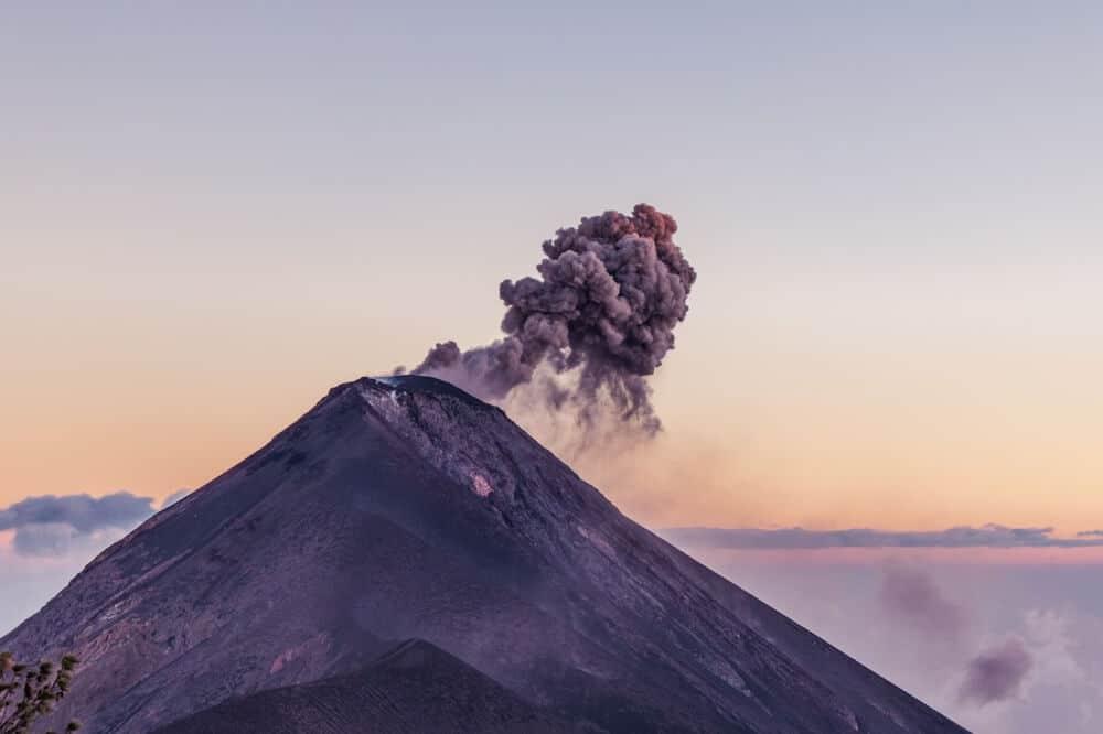Auf dem Vulkan Acatenango hatten wir in Guatemala ein sehr abenteuerliches Erlebnis
