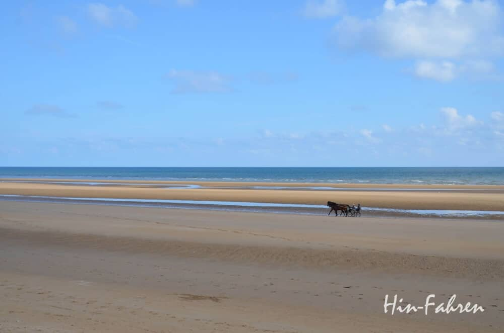 Weite Strände in der Normandie.