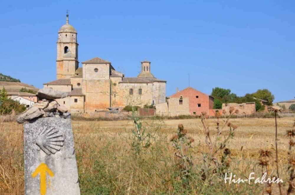 Auf dem Pilgerweg nach Santiago de Compostella in Nordspanien