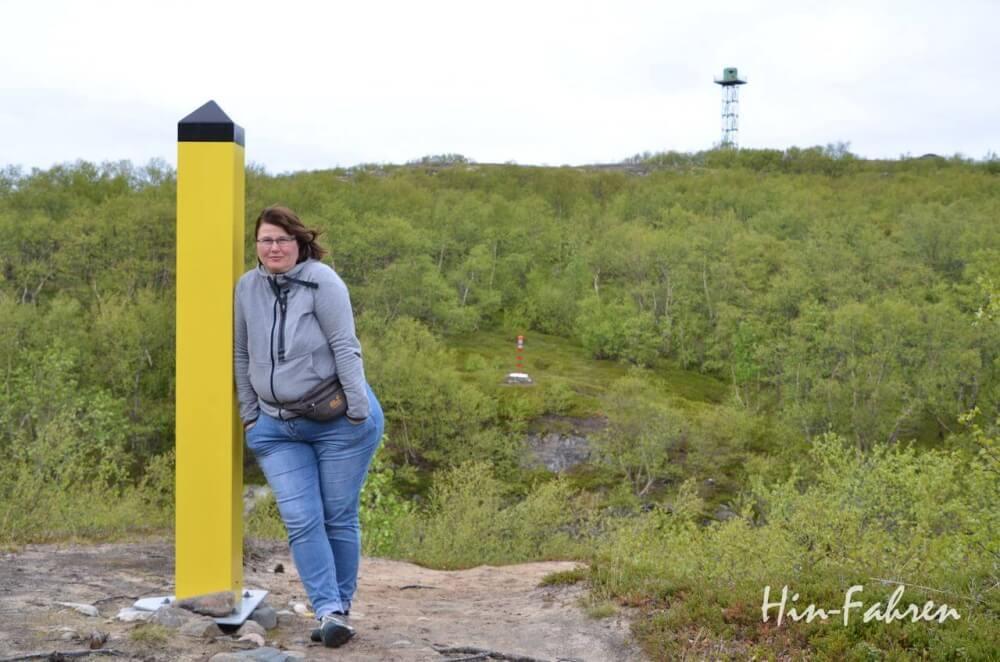 An der norwegisch-russischen Grenze