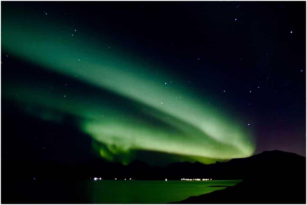 Unsere bisher stärksten Nordlichter in Tromsø