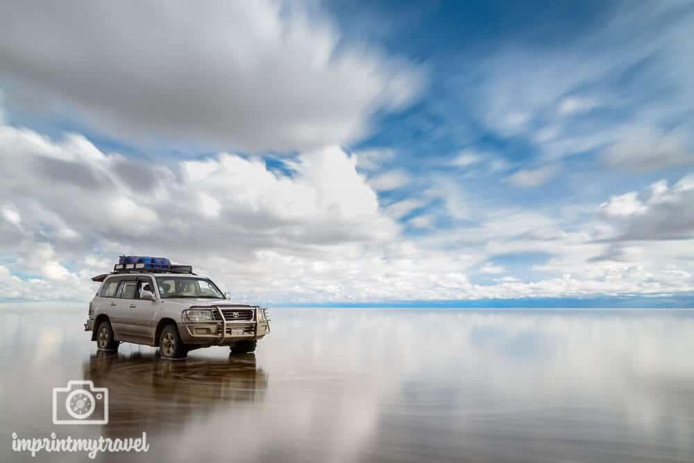 Die überflutete Salzwüste Salar de Uyuni, Bolivien, Februar 2018 Der größte natürliche Spiegel der Welt! Ein Erlebnis, dass man nicht so schnell vergisst!