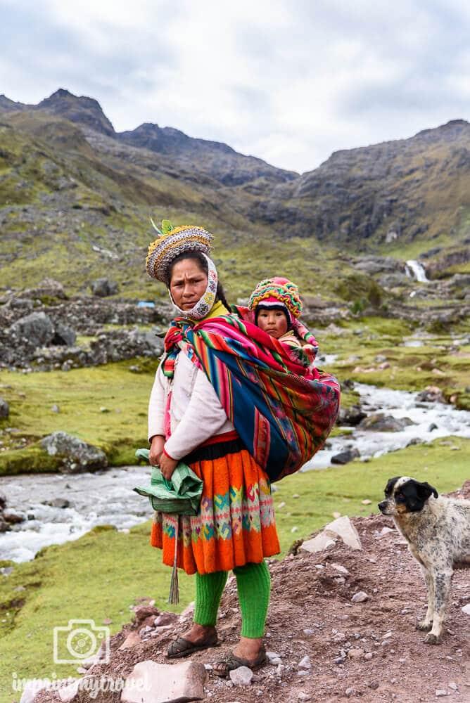 Bewohner der Anden, Lares Trekking,Peru, März 2018 Auf dem Lares Trekking nach Machu Picchu hatte ich viele unvergessliche Begegnungen mit Einheimischen!
