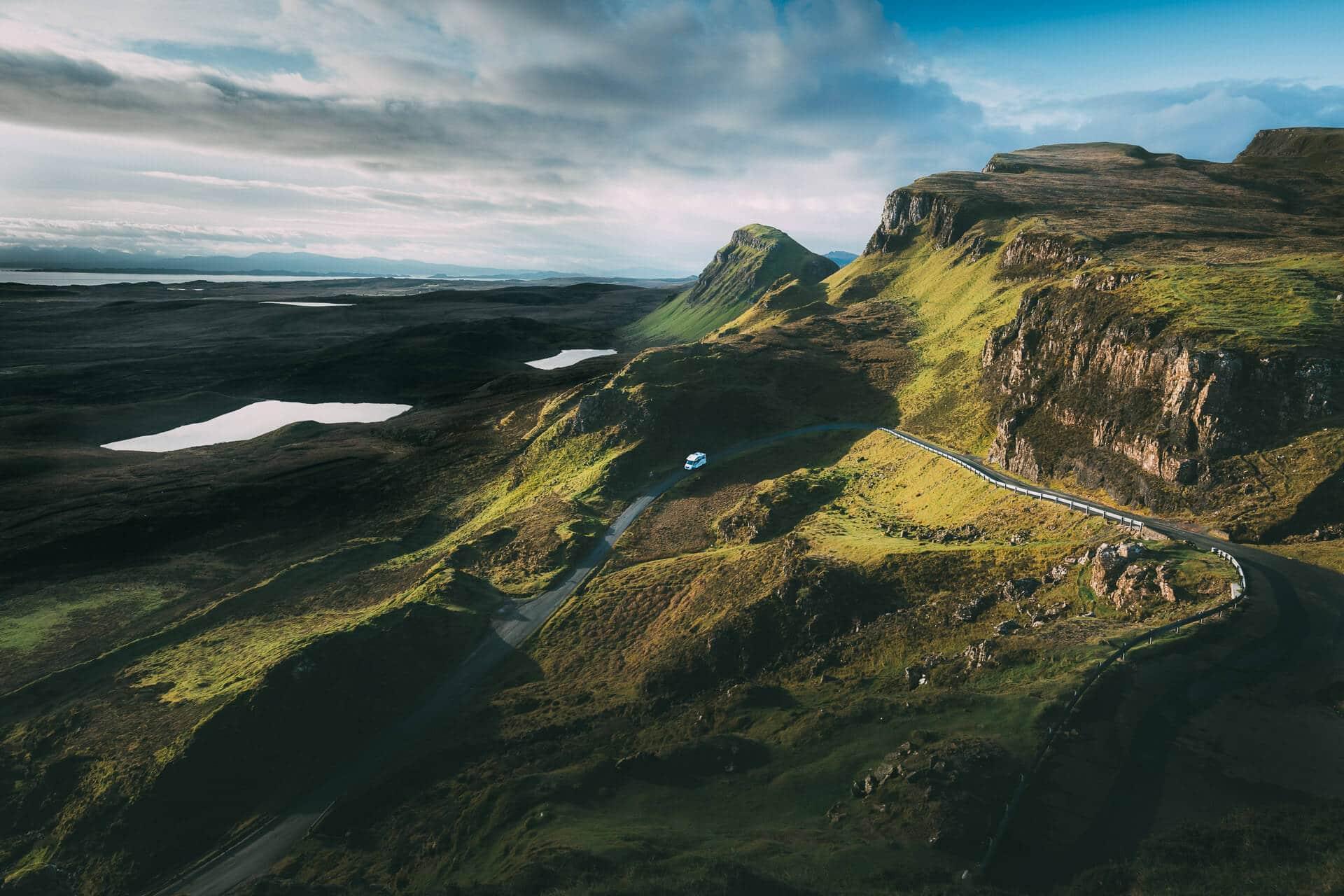 Ein ganz aktuelles Foto aus Schottland – die Landschaft ist absolut überwältigend!