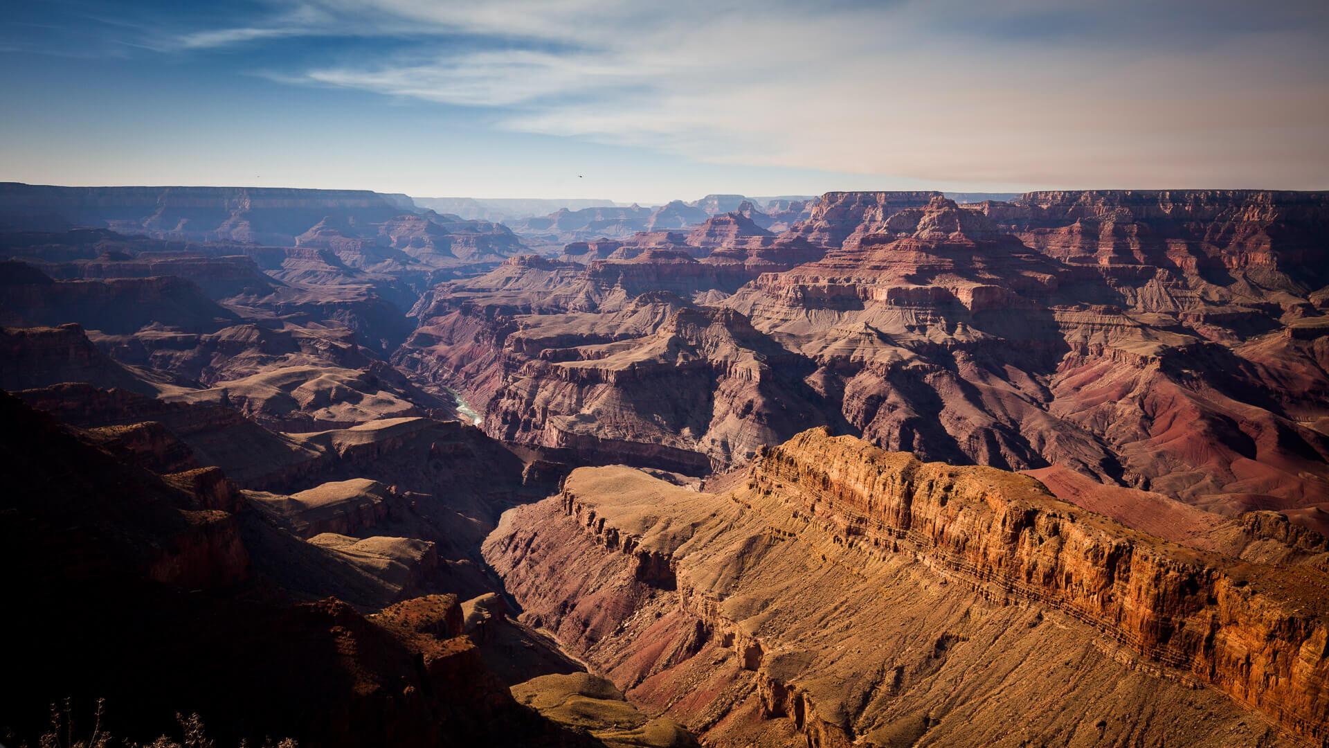 Der Grand Canyon ist ein Ort, der uns jedes Mal wieder überwältigt. Wir könnten Wochen hier verbringen!