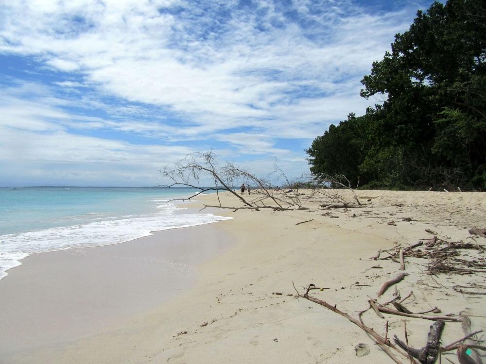 Isla Zapatilla (Panama - Bocas del Toro) - Karibik pur gepaart mit Robinson Crusoe Feeling.