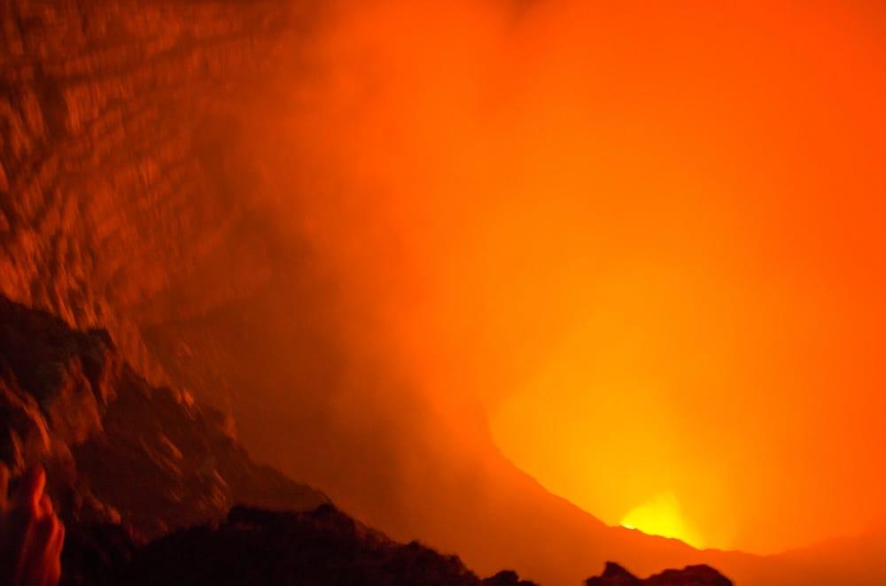 Vulkan Masaya - Fließende Lava, ich war mehr beeindruckt als ich es mir hätte denken können…
