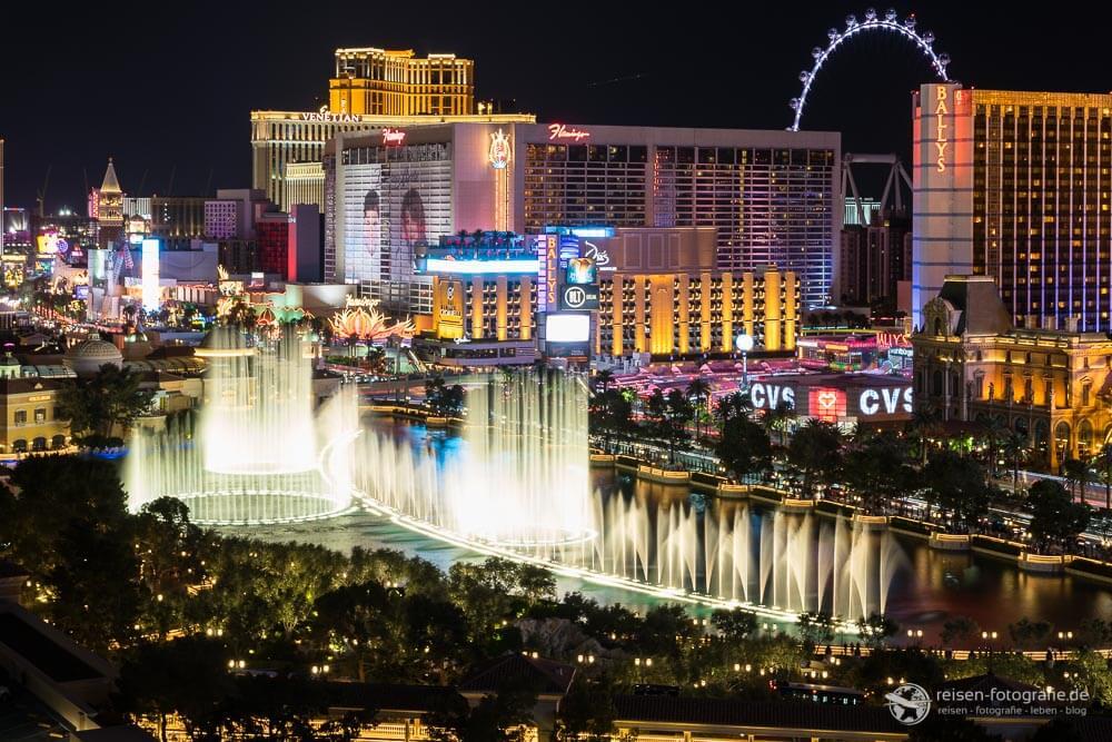 Ausblick vom Hotel Cosmopolitan in Las Vegas