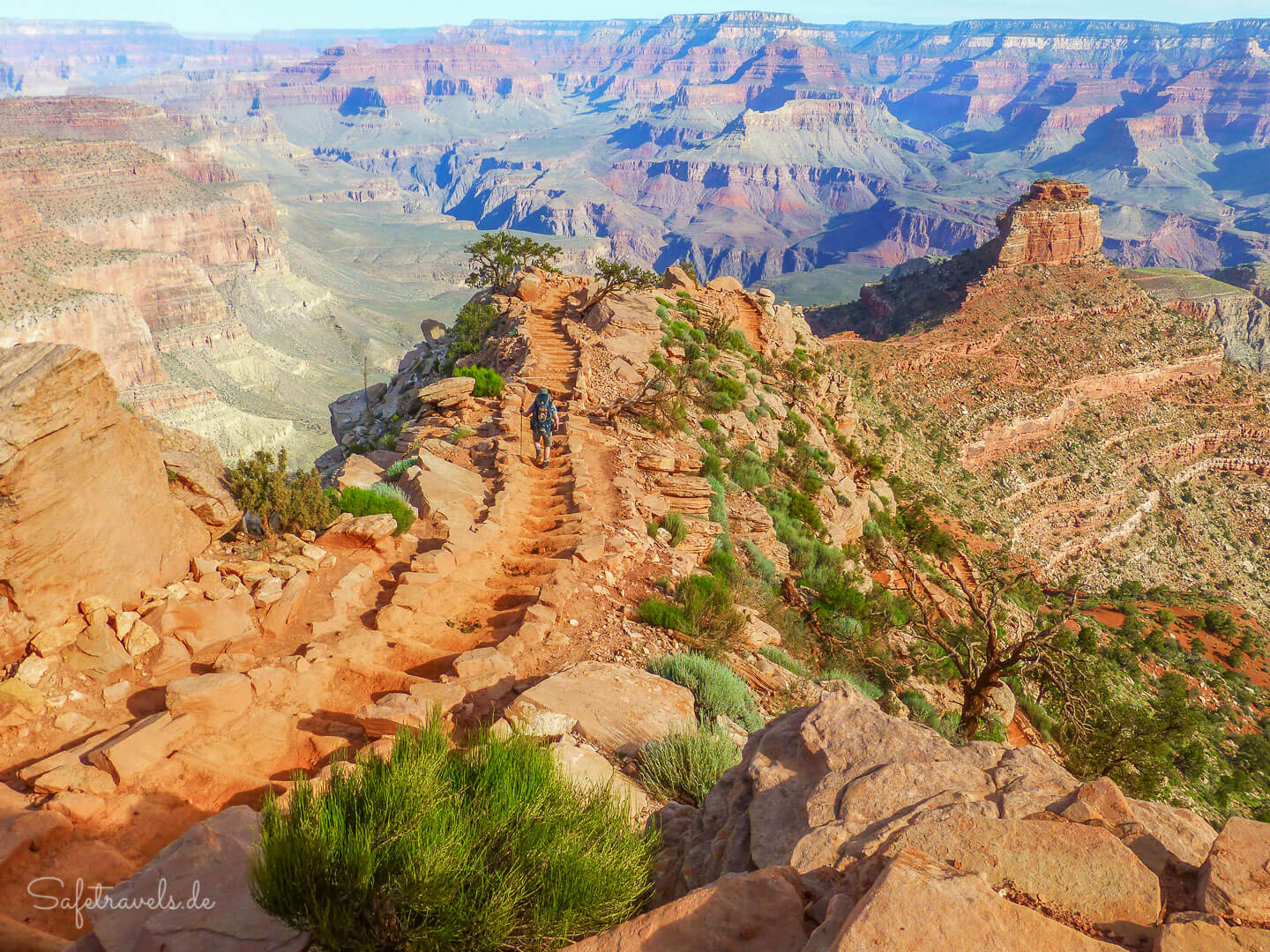 South Kaibab Trail im Grand Canyon