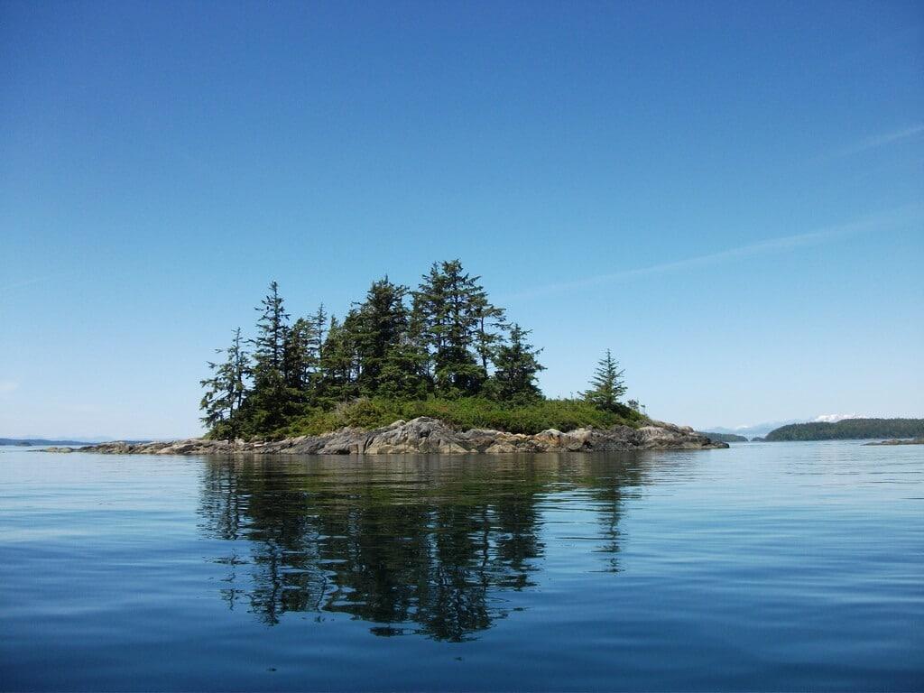 Johnstone Strait bei Vancouver Island
