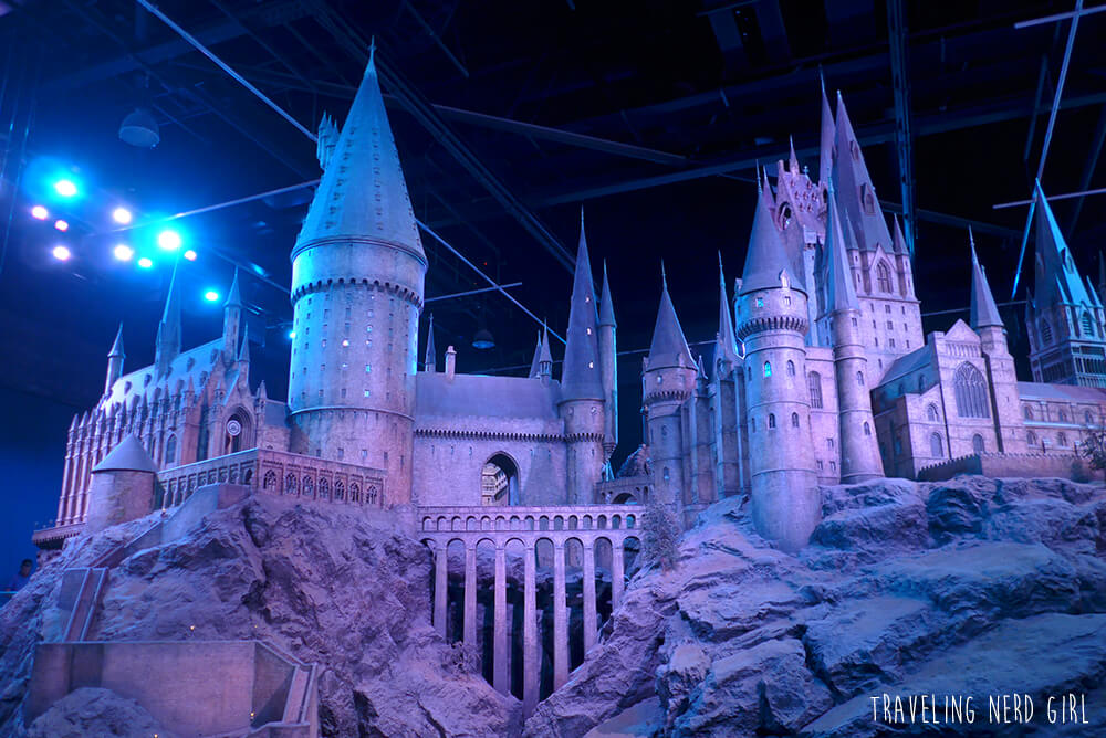 Hogwarts, in den Harry Potter-Studios bei London