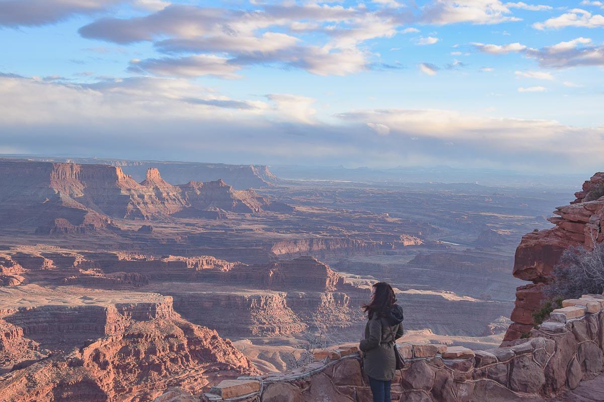 Die Canyonlands in Utah (bei Moab) sind spektakulär