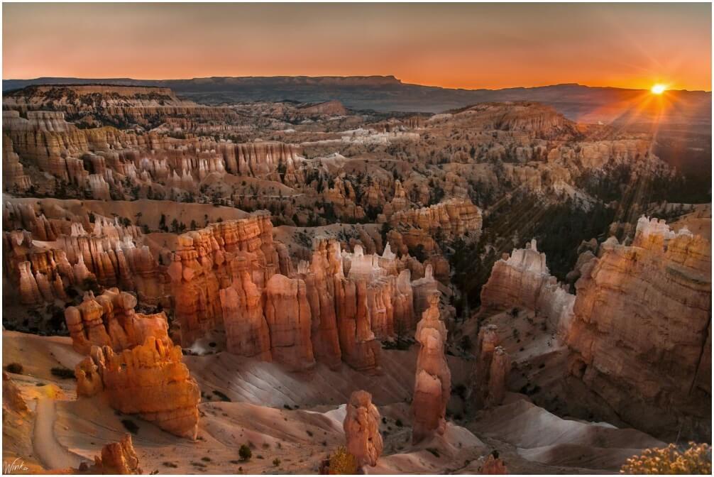 Sonnenaufgang am Bryce Canyon
