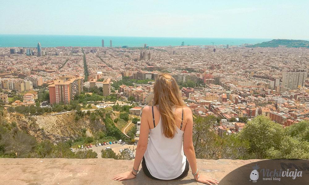 Ein wunderschöner Ausblick über meine Wahlheimat Barcelona