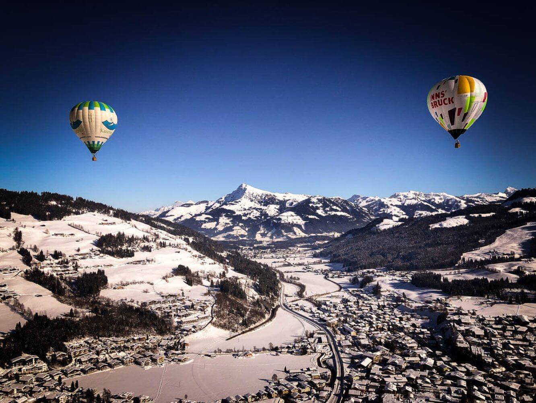 Hoch über dem Wilden Kaiser – Ballonfahren im Winter ist purer Genuss und wirklich nicht kalt
