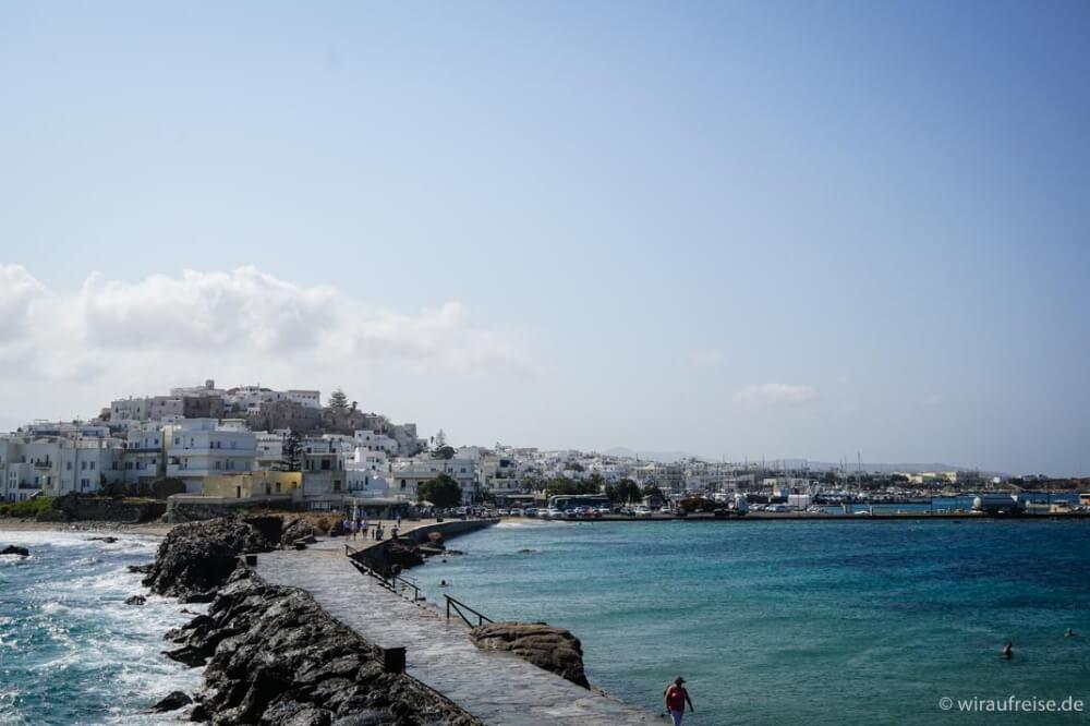 Naxos, eine der griechischen Kykladen. Mit der erholsamste Urlaub, den wir je hatten.