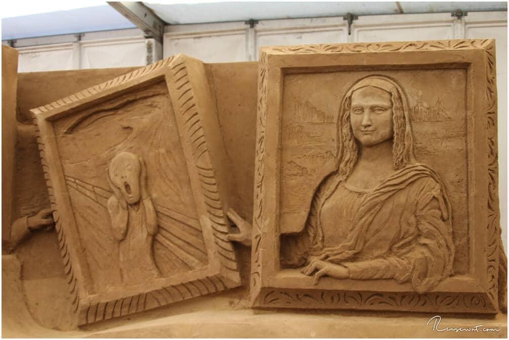 Auch die Mona Lisa und der Schrei dürfen nicht fehlen