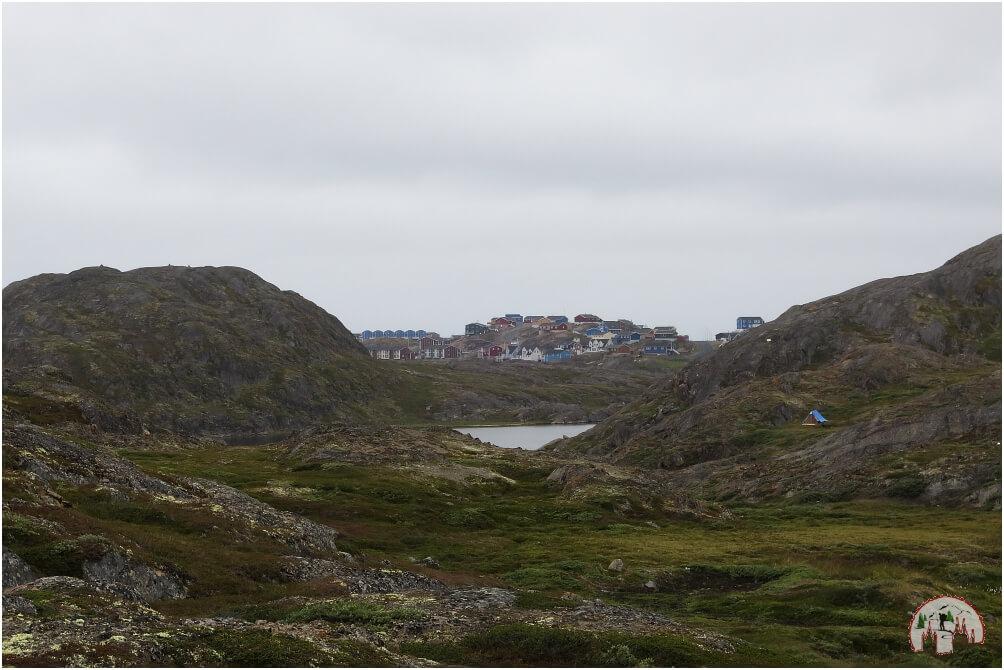 Ssisimiut greifbar nahe am Ende des Arctic Circle Trails