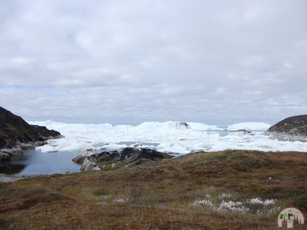 Ausblick auf den Ilulissat Eisfjord