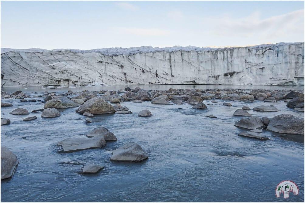 Inlandeis Russell Gletscher Kangerlussuaq Groenland