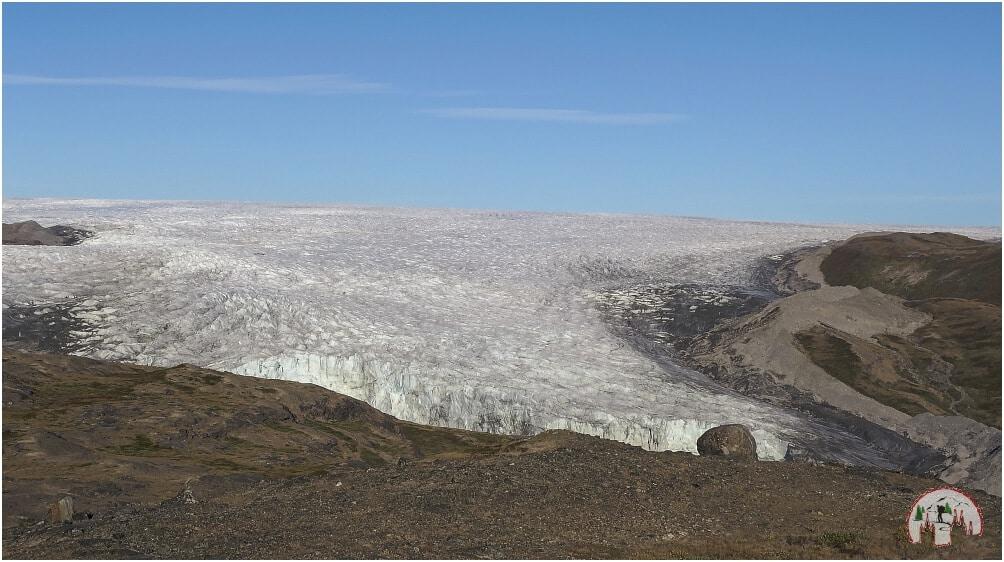 Russell Gletscher Inlandeis bei Kangerlussuaq