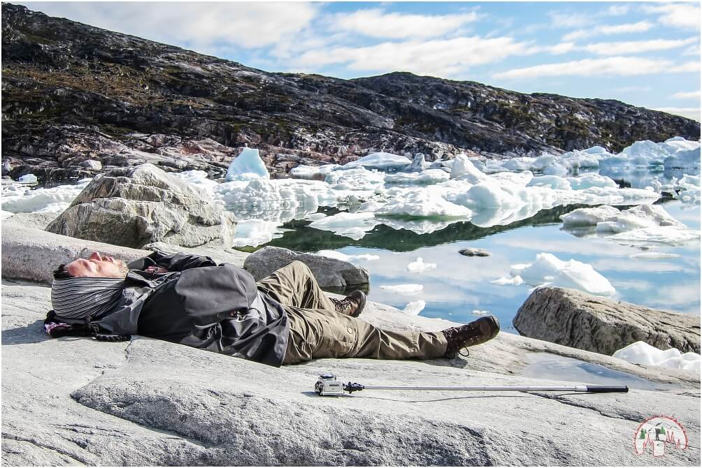 Schwerti am Ilulissat Eisfjord in Groenland
