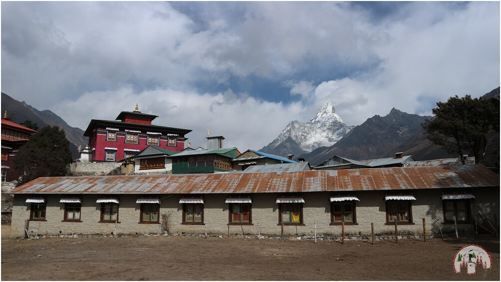 Tengboche Monastery am Ama Dablam Everest Trek