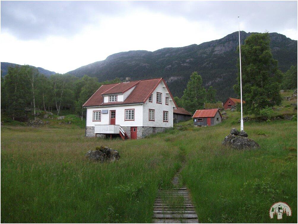 Unsere Unterkunft, die Bakken Turisthytta