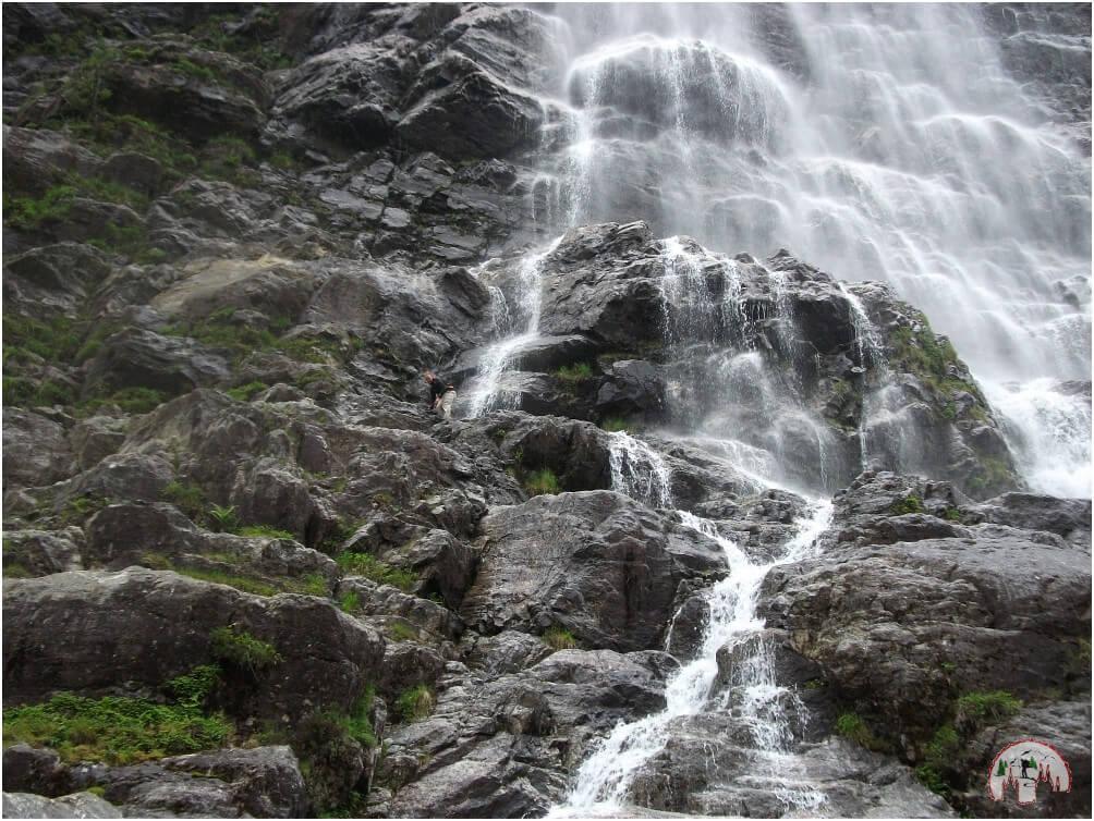 Wasserfall beim Lysebotn