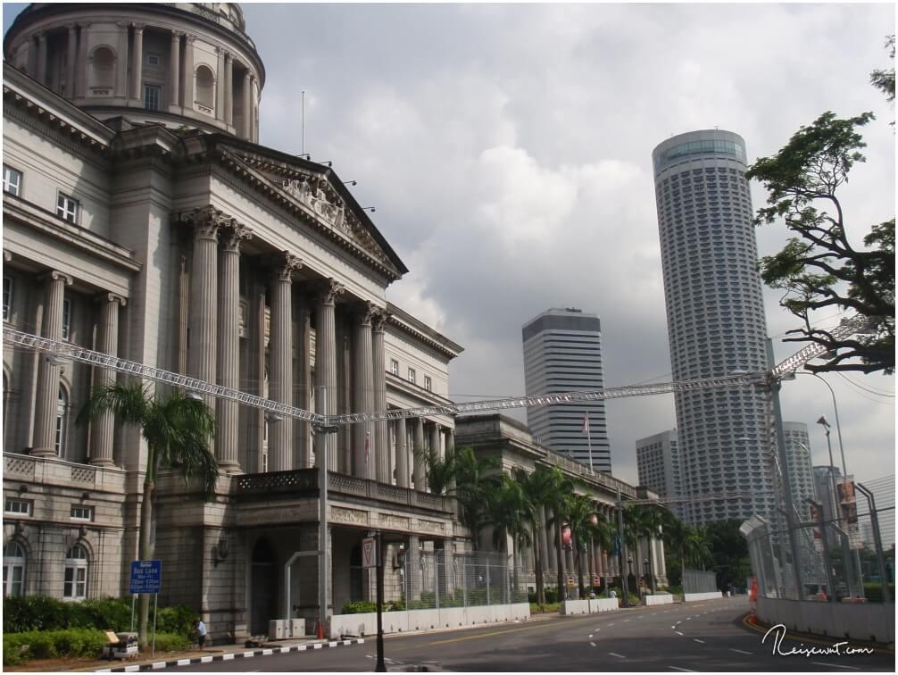 Das alte Rathaus in Singapur