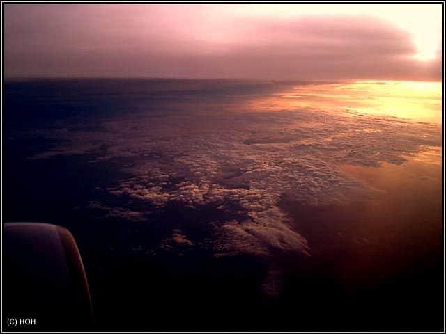 Nachtflug mit LTU nach Bangkok