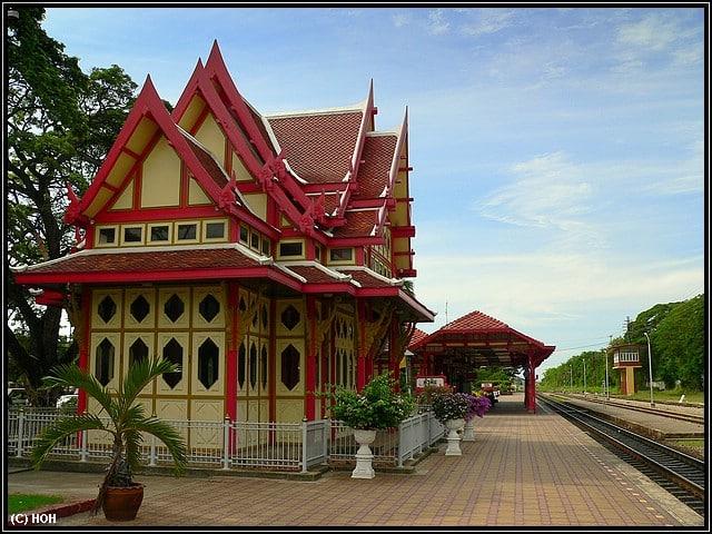 Der Bahnhof in Hua Hin