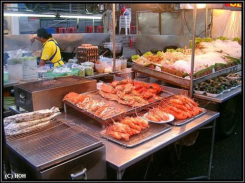 Auf dem Nachtmarkt in Hua Hin