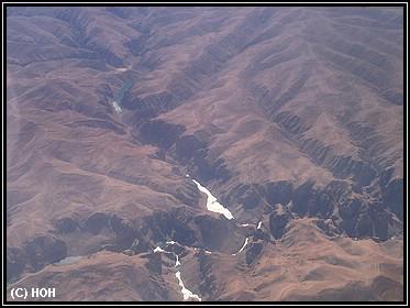 Afghanistan von oben