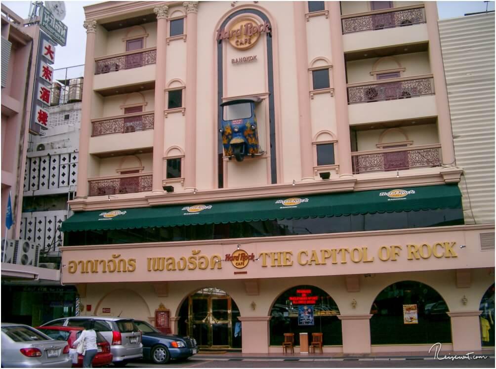 Das Hard Rock Cafe in Bangkok