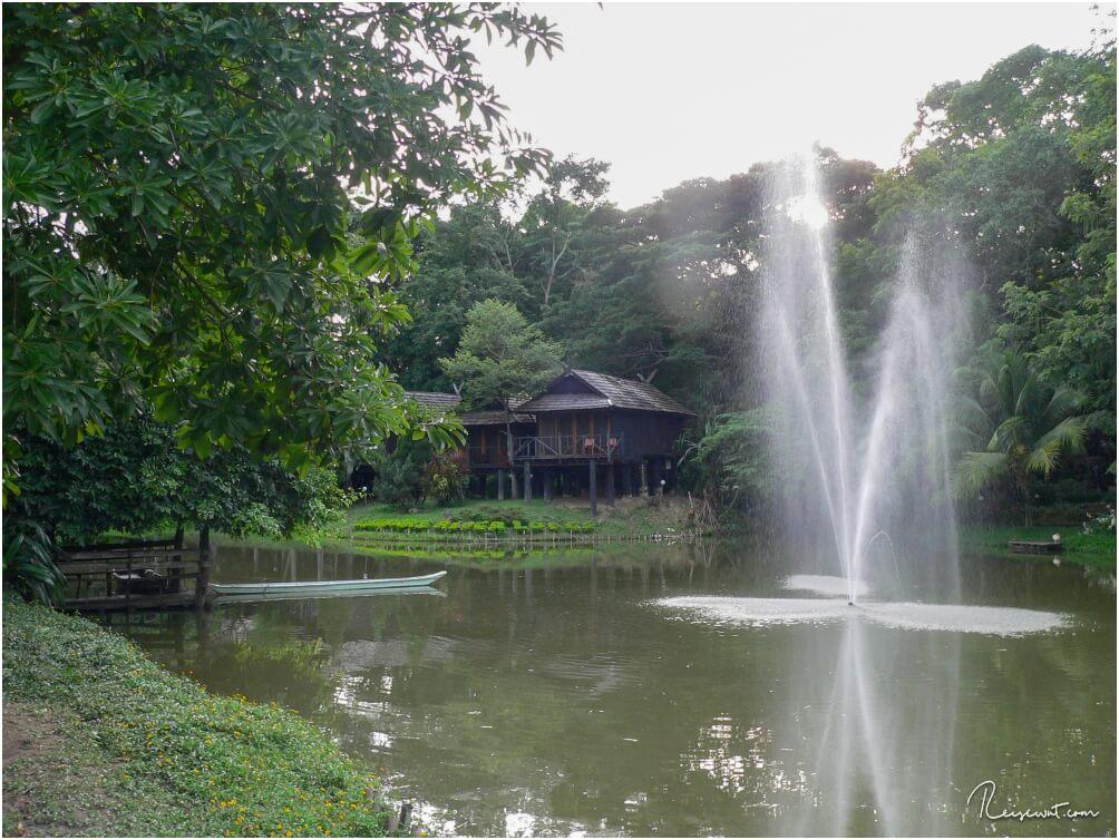 Unsere Hotelanlage heute, die Lampang River Lodge