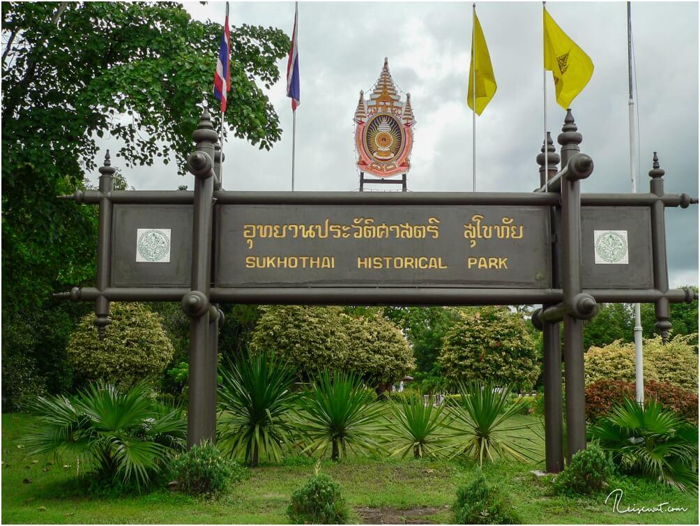 Willkommen im Sukhothai Historical Park