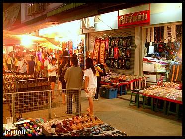 Nachtmarkt in Chiang Rai